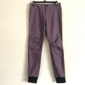 Kith Mercer Jogger Pants Purple Ronnie Fieg 26